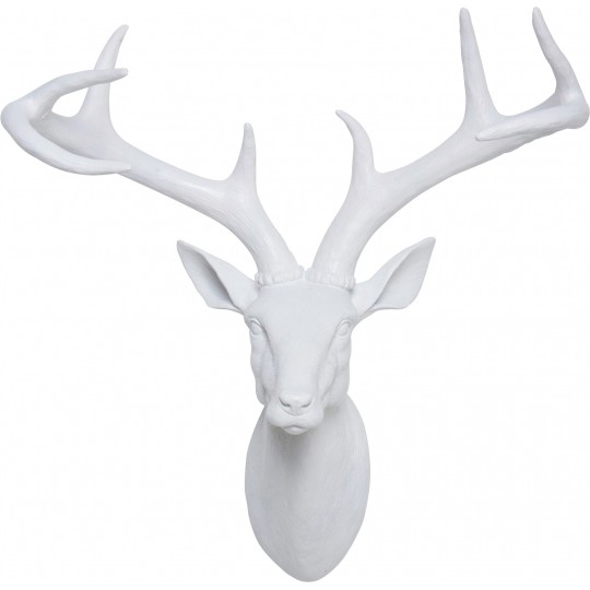 Deco Antler Deer White Kare Design
