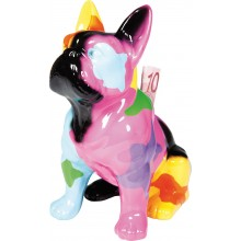 Tirelire Dog Sitting Colore Kare Design