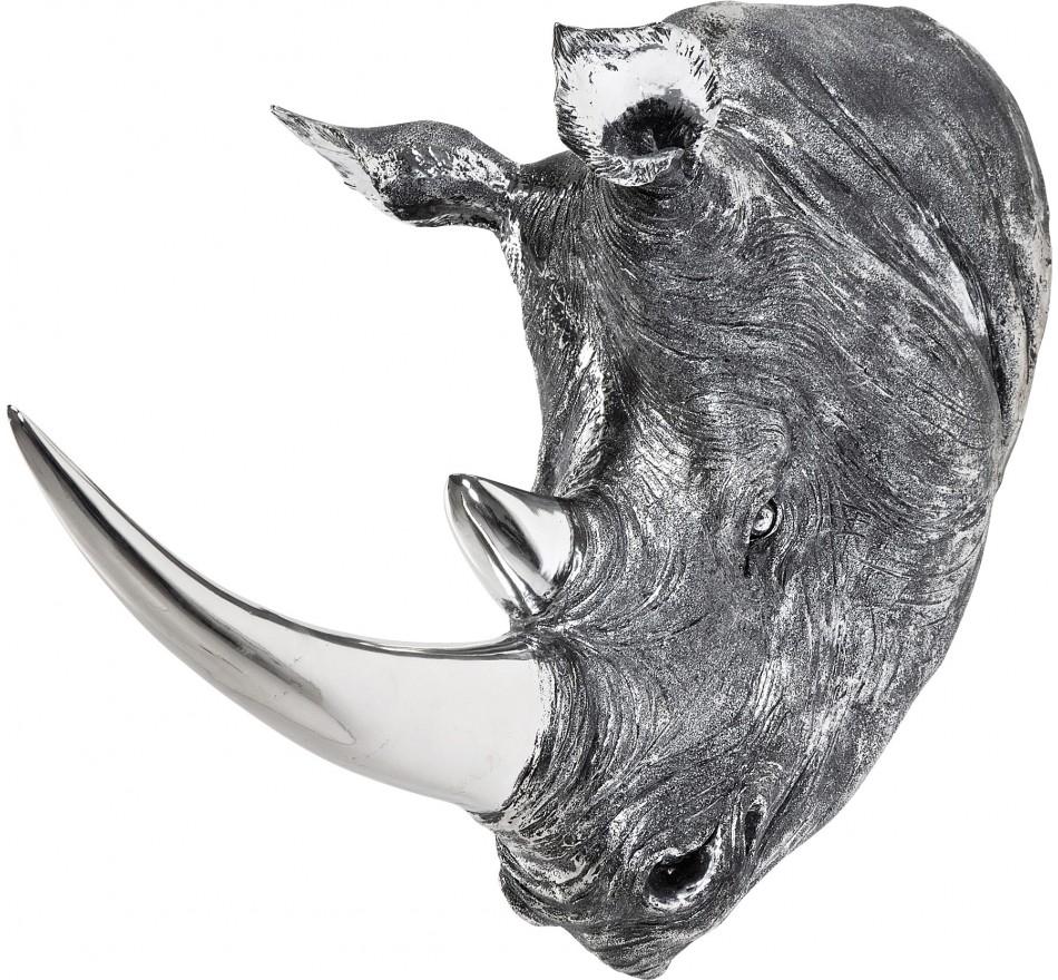 Deco Head Rhino Antique Kare Design