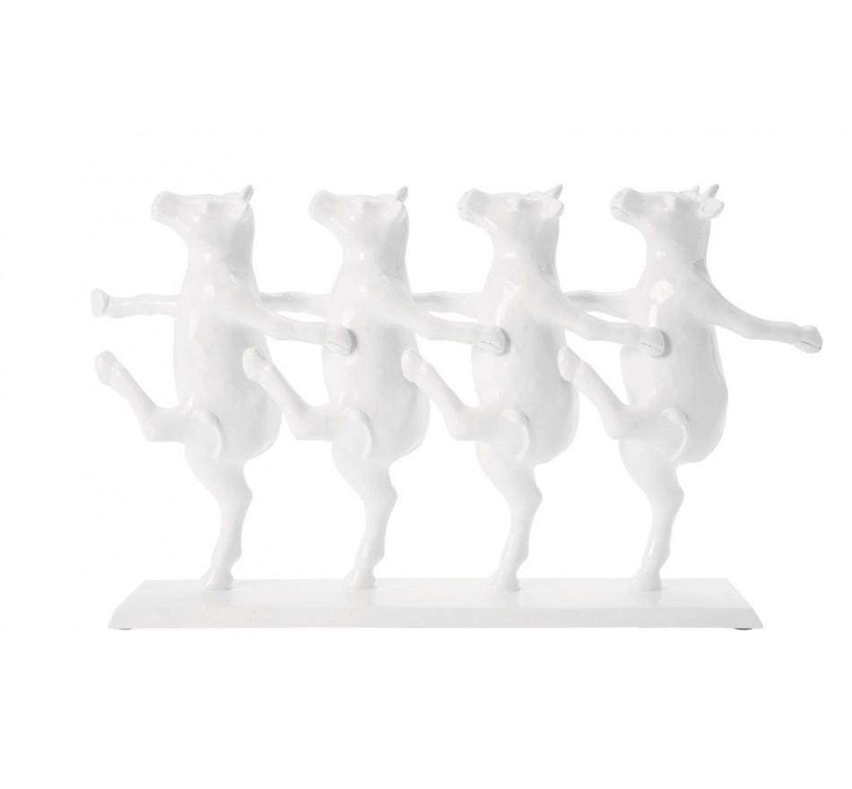 Déco vaches blanches cancan Kare Design