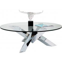Table basse ronde Crystal Eco Kare Design