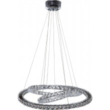 Suspension Universe Crystal LED 70 cm Kare Design