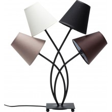 Lampe de Table Flexible Mocca Quattro Kare Design
