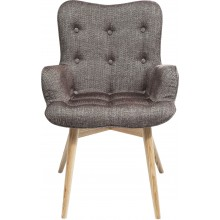 Fauteuil Angels Wings Rhythm Brown Kare Design