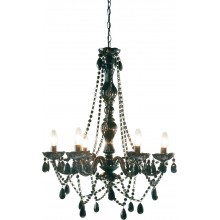 Lustre starlight multicolore 6 branches kare design - Lustre baroque multicolore ...