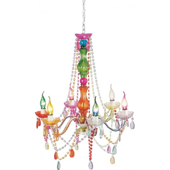 Lustre Starlight Multicolore 6 branches Kare Design