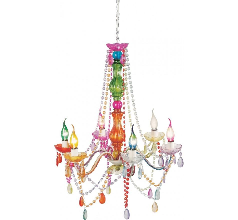 Lustre Starlight Multicolore 6 branches Kare Design