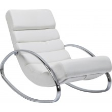 Rocking-Chair Manhattan Blanc Kare Design