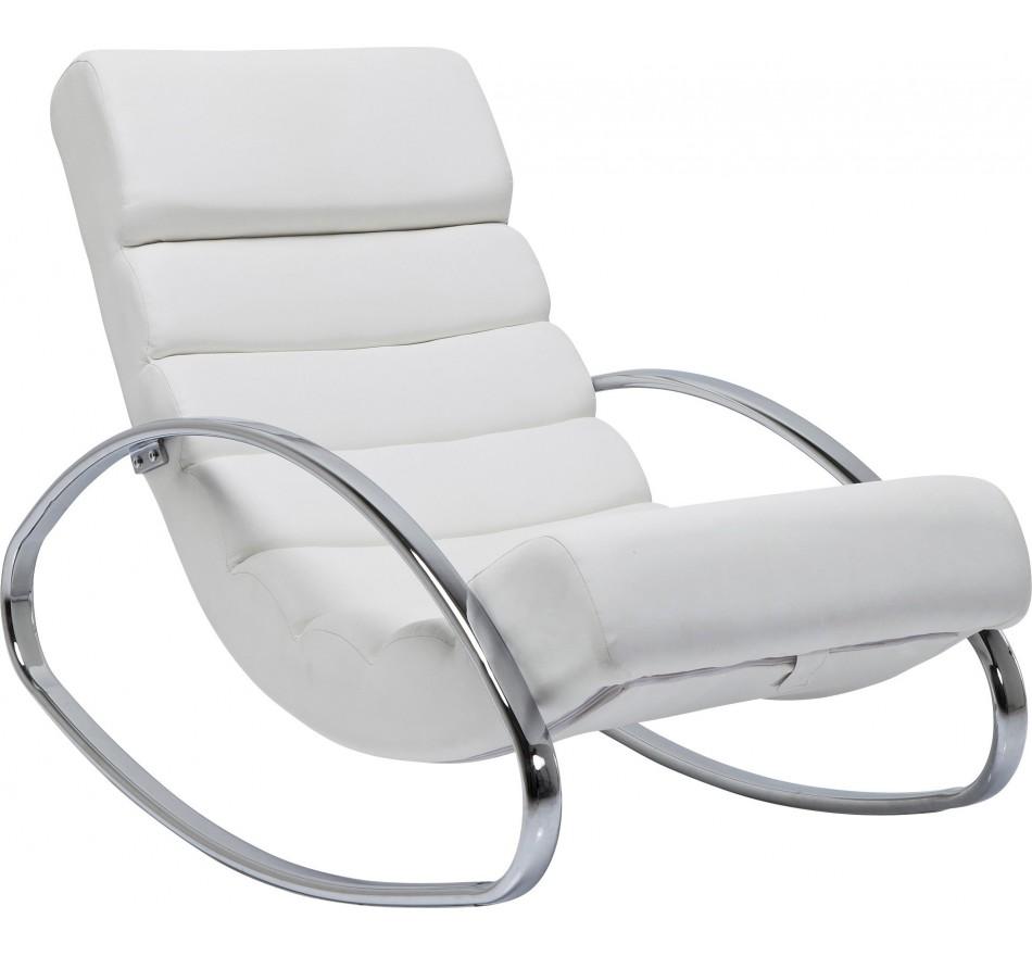 Rocking-Chair Manhattan Blanc Kare Design