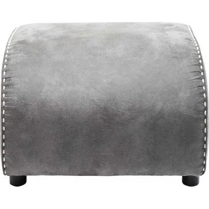 Repose-pieds Ritmo Vintage gris Kare Design