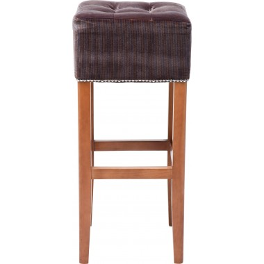 Tabouret de bar Rich Beauty Pinstripe Kare Design