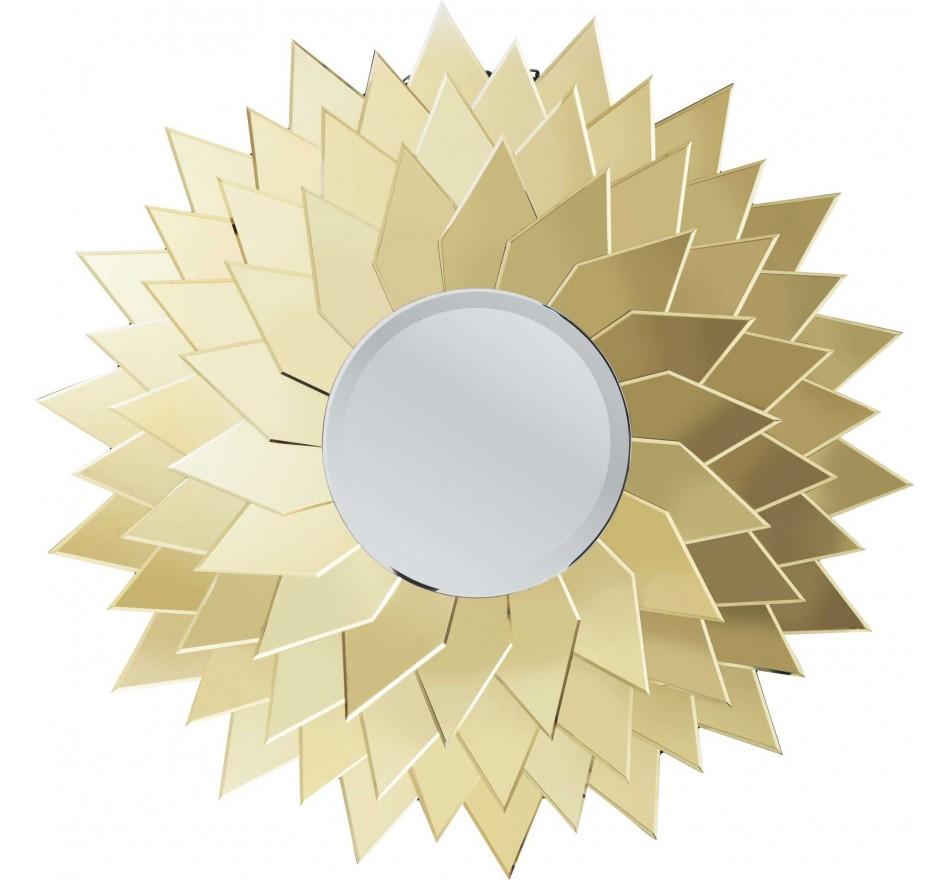 Miroir Sunflower rond  120cm Kare Design