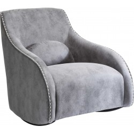 Fauteuil à bascule Swing Ritmo Vintage gris Kare Design