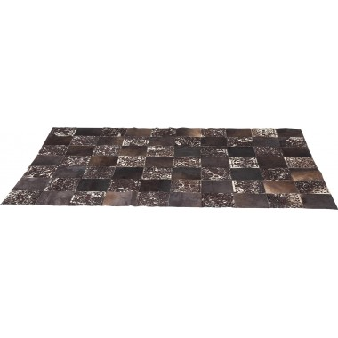 Tapis en cuir Square Ornament 170x240cm Kare Design