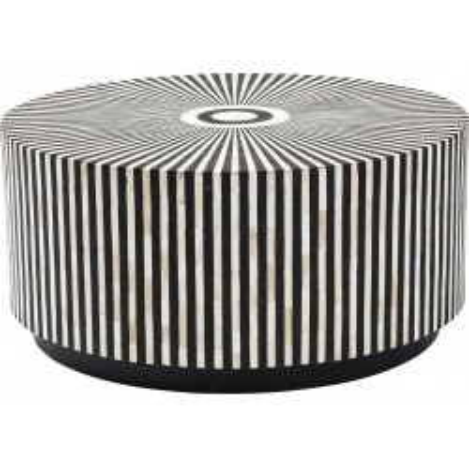 Table basse ronde Electra 75 cm Kare Design