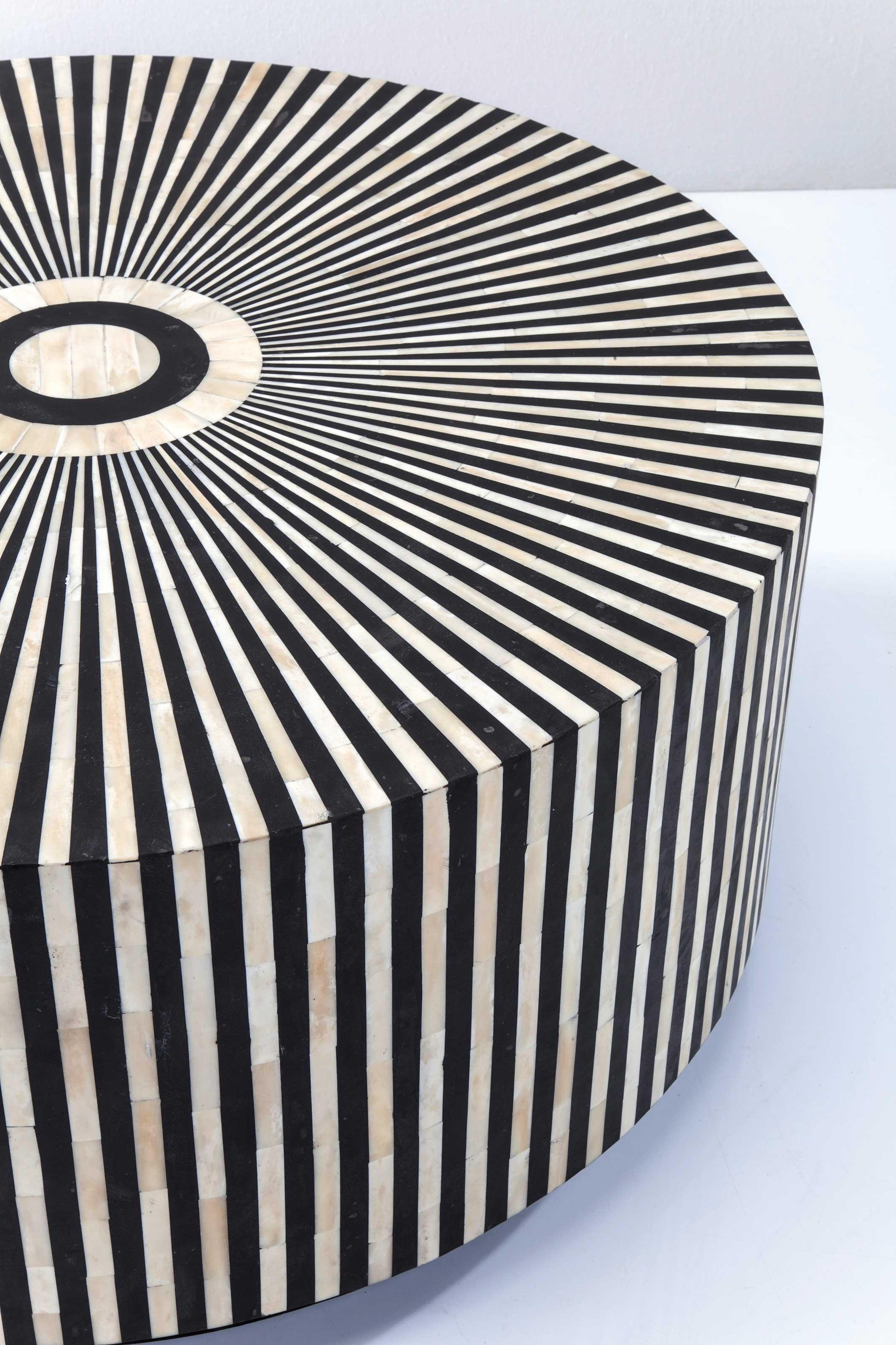 Table basse ronde Electra 75cm Kare Design
