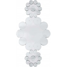 Miroir Ice Flowers 194x102 cm Kare Design