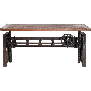 Table industrielle Steamboat 160x80cm Kare Design
