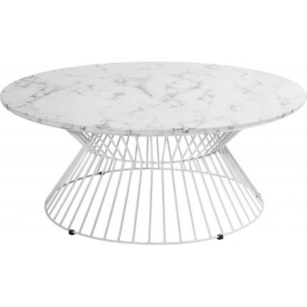 Table basse ronde Cintura 90cm Kare Design