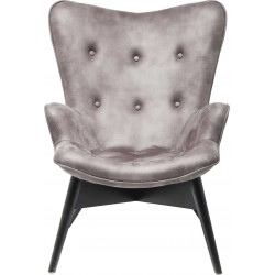 Fauteuil Angels Wings anthracite Kare Design