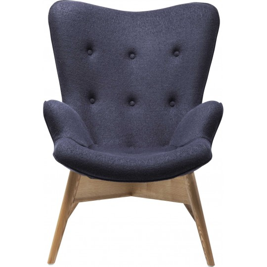 Fauteuil Angels Wings gris eco Kare Design
