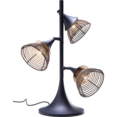Lampe de table Rattan Tre Kare design