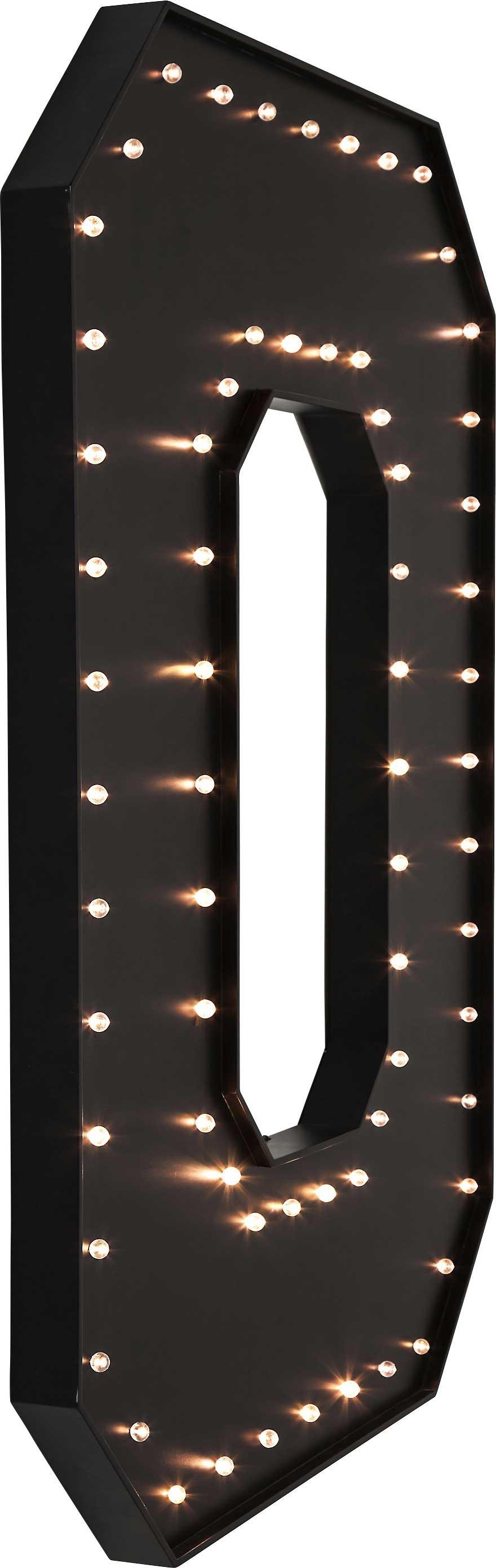 DEL 8 W Extérieur Rectangulaire Noir cloison IP44 jardin murale Site Light 110-240 V
