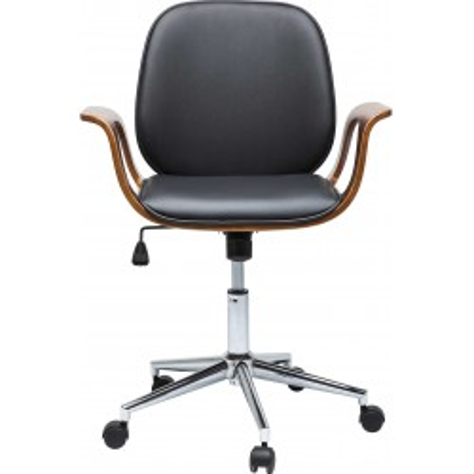 Chaise de bureau Patron noyer Kare Design