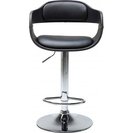 Tabouret De Bar Contemporain Noir Costa Kare Design