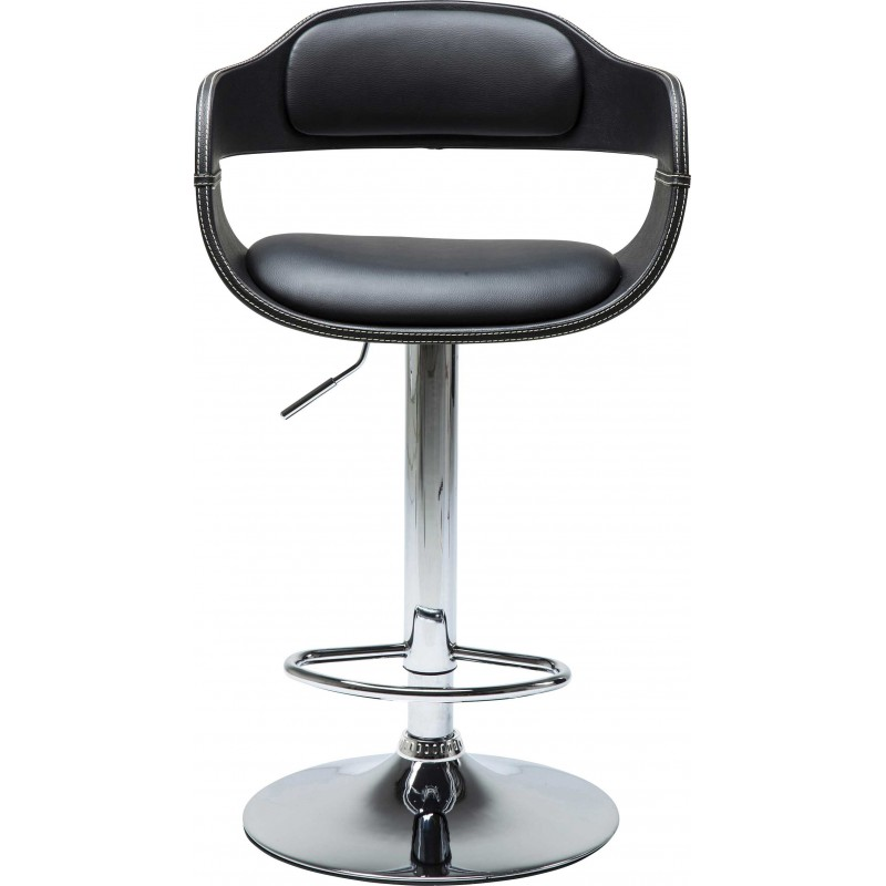 Tabouret de bar contemporain noir costa kare design for Tabouret bar contemporain