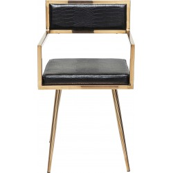 Chaise avec accoudoirs Jazz Kare Design