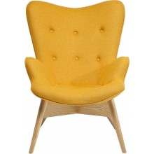Fauteuil Angels Wings Jaune Eco Kare Design