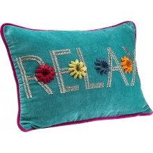 Coussin Relax Light bleu 35x50 cm Kare Design