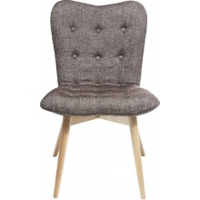 Fauteuil Angels Wings Rhythm marron Kare Design