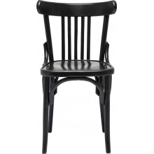 Chaise Roadhouse noire Kare Design