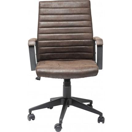 Chaise de bureau Labora marron Kare Design