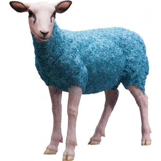Décorative Sheep bleue Kare Design