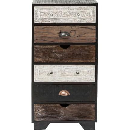Chiffonnier Finca 6 tiroirs Kare Design