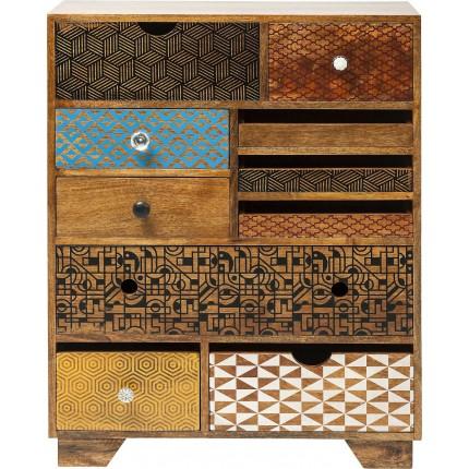 Commode Soleil 10 tiroirs Kare Design