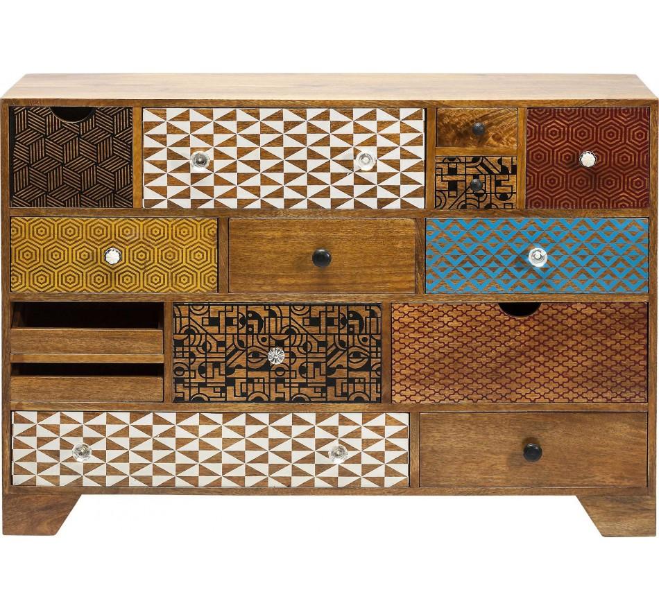 Commode Soleil 14 tiroirs Kare Design