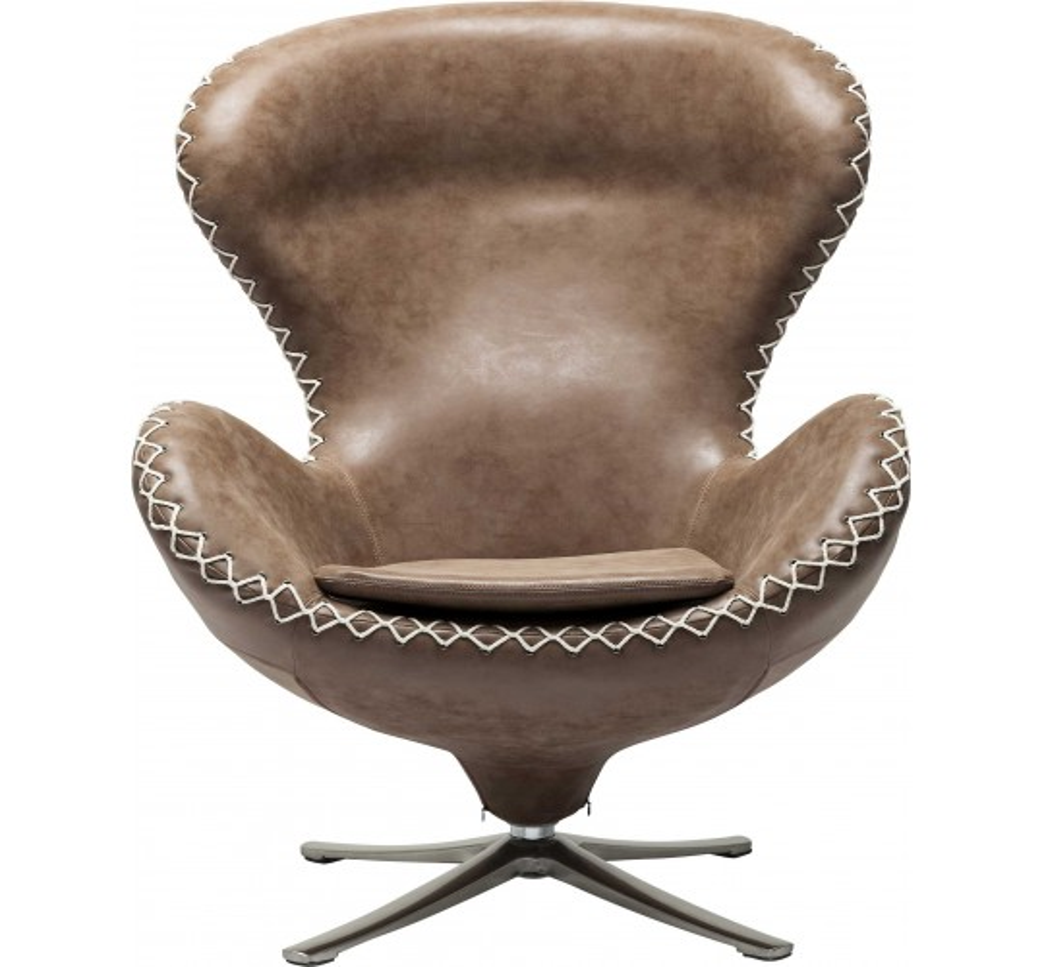 Fauteuil pivotant Lounge Bonanza Kare Design