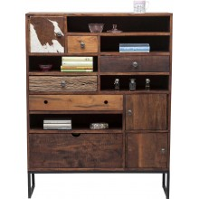 Commode haute Texas 3 portes 5 tiroir Kare Design