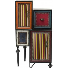 Commode Fun Factory 2 portes 2 tiroirs Kare Design