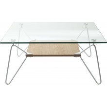 Table basse Slope Triangle 80x80cm Kare Design