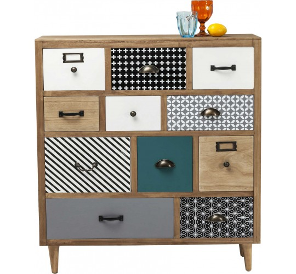 Commode Capri 11 tiroirs Kare Design