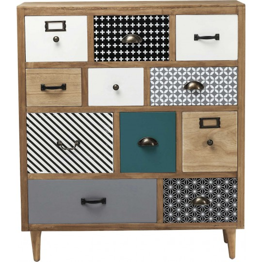 Commode Capri 11 tiroirs Kare Design