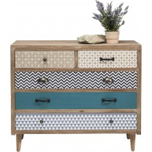 Commode Capri 5 tiroirs Kare Design