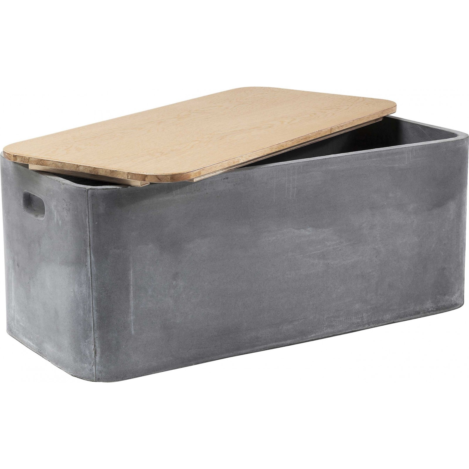 coffre industriel storage concrete kare design