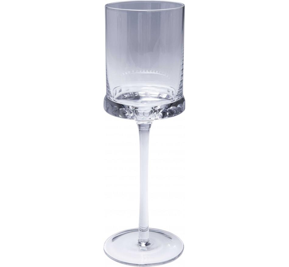 Verre à vin 12/set blanc Rosetta Kare Design