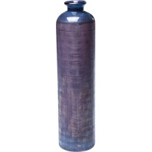 Vase Dust Carved violet 40 cm Kare Design